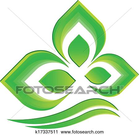 clipart plante verte logo vecteur k17337511 recherchez des clip arts des illustrations. Black Bedroom Furniture Sets. Home Design Ideas