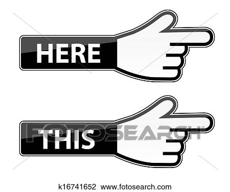 clipart of mouse hand cursor vector this here pointer labels rh fotosearch com mouse hand cursor vector computer hand cursor vector