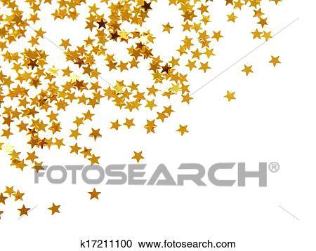 免版税(rf)类图片 - 金色, 五彩纸屑
