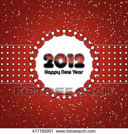 剪贴画 - 高兴的新年图片
