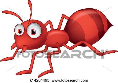 剪贴画 - 漂亮, 蚂蚁, 卡通漫画图片