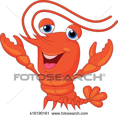 Clipart of Cute lobste...