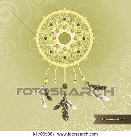 Clip art of dream catcher k17065067 search clipart for Dream catcher graphic