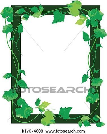 剪贴画 - 叶子, 框架图片