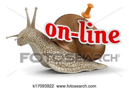 剪贴画 - 在线, 蜗牛