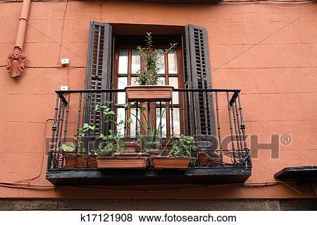 Старый балкон.