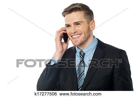 banque d 39 images sourire directeur communiquer client k17277506 recherchez des photos. Black Bedroom Furniture Sets. Home Design Ideas