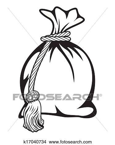 clipart of money bag vector illustration k17040734 search clip art rh fotosearch com bag of money clipart bag of money clipart free