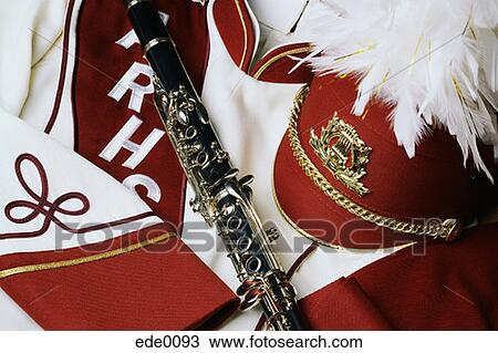 Marching Band Clipart Clarinet Marching Band Uniform and