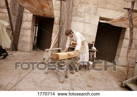 Stock Photo of Jesus, a carpenter 1770714 - Search Stock Images ...