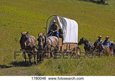 Stock Images of Wagon Train 1780046 - Search Stock ...