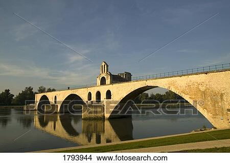 stock photo of pont d 39 avignon 1793944 search stock images mural photographs pictures and. Black Bedroom Furniture Sets. Home Design Ideas