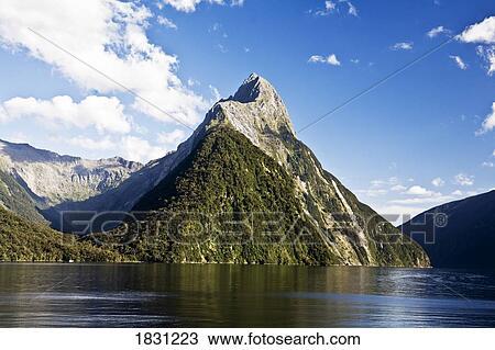 milford 声音, 新西兰 放大图片