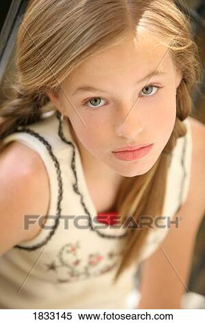 Stock Image Of Girl With Braids 1833145 Search Stock