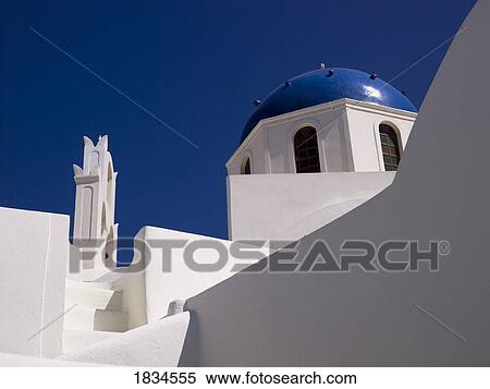 Banque d 39 image architecture grecque santorini gr ce for Architecture grecque