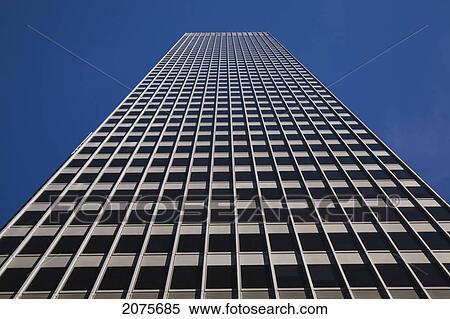 Banque d 39 image moderne verre et acier architectural for Bureau quebec montreal