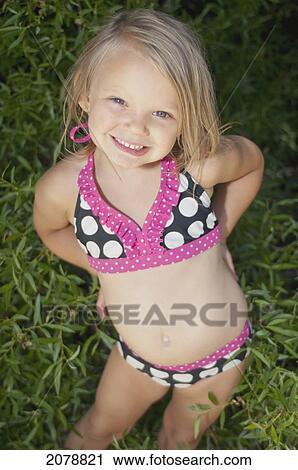 Plakatbild des Mädchens im Bikini