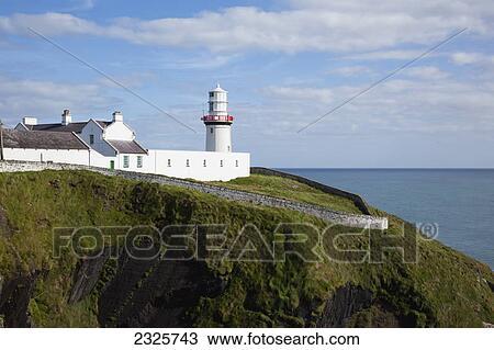 Stock Photo Of Galley Head Lighthouse Near Awnehincha