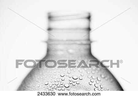 Condensation Water Bottle Water Condensation on a
