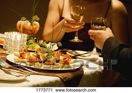 Stock Photography Of Romantic Dinner 1773771 Search