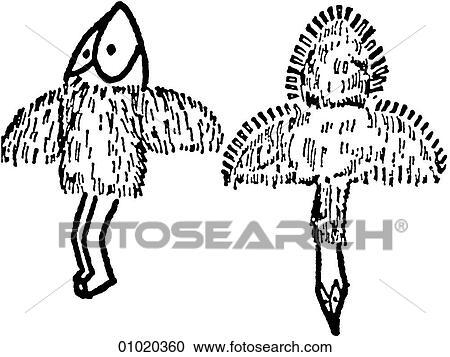 Shaman Art Symbols Signs Symbols Line Art