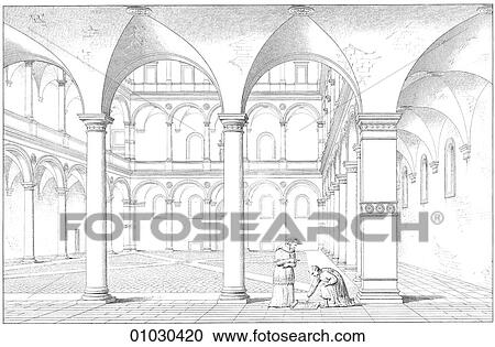 Banque d 39 illustrations architecture italie for Architecte italien contemporain