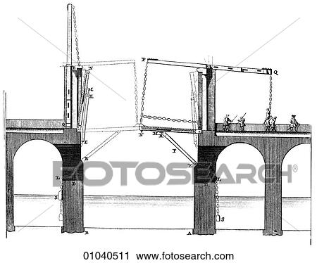 Clipart of Industry & technology -line art Civil ...