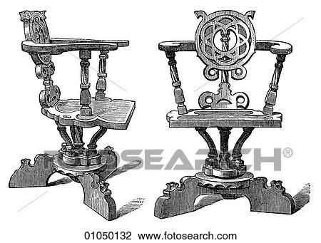 Clip art manufatti mobilia germania gotico for Mobilia in inglese