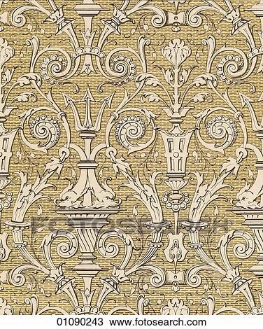 Drawing Of Patterns Motifs