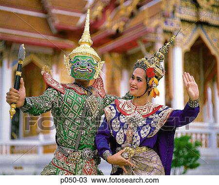 local tailandés bailando