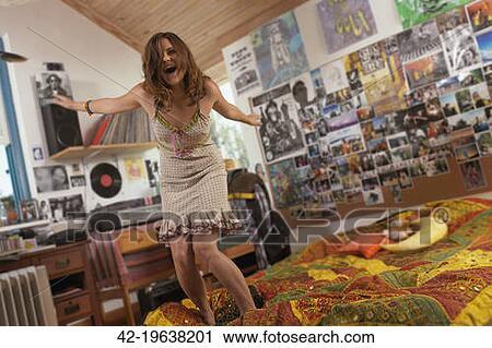 Adorable cutie teen strips and dances naked in her bedroom