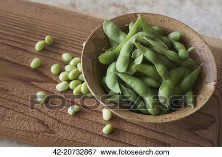 Picture of Soybean pods 42-20732867 - Search Stock ...
