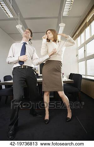 Stock Photo Of Co Workers Goofing Off 42 19736813 Search
