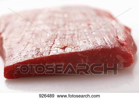Stock Photograph of Raw flank steak 926489 - Search Stock ...