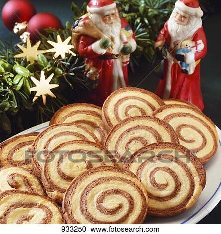 stock fotografie weihnachten biscuits kakau und. Black Bedroom Furniture Sets. Home Design Ideas