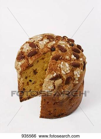 Yeast Cake Clipart : Stock Images of Panettone (Italian yeast cake for ...