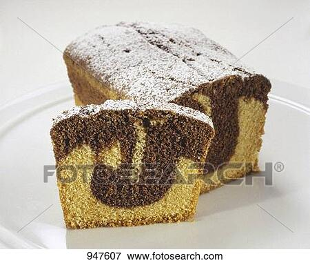 Loaf Cake Clipart : Picture of Marble loaf cake 947607 - Search Stock ...
