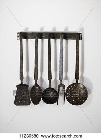 Banques de photographies vieux ustensiles cuisine - Vieux ustensiles de cuisine ...