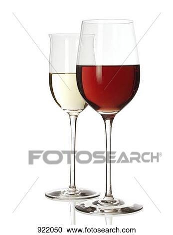 banques de photographies vin rouge verre et vin blanc verre moiti rempli 922050. Black Bedroom Furniture Sets. Home Design Ideas
