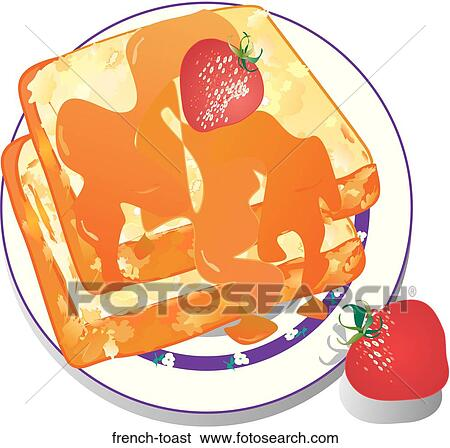 stock illustration of french toast frenchtoast search