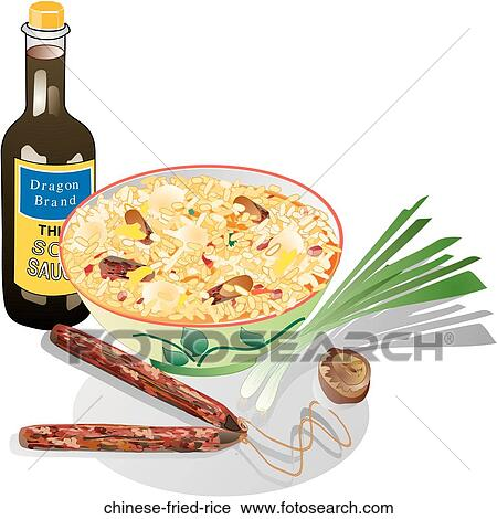 Clipart of Chinese Fried Rice chinese-fried-rice - Search ...