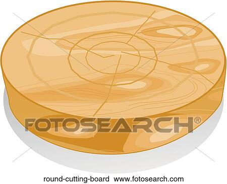 clipart arrondissez planche d couper round cutting board recherchez des clip arts des. Black Bedroom Furniture Sets. Home Design Ideas