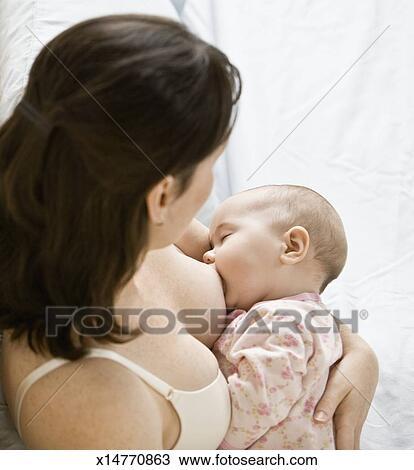 mothers breastfeeding babies