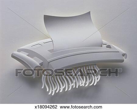 clipart d chiqueteuse papier x18094262 recherchez des. Black Bedroom Furniture Sets. Home Design Ideas
