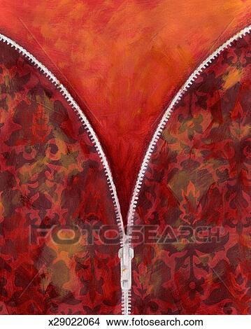 Drawings of Open Zipper x29022064 - Search Clip Art ...