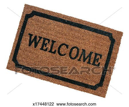 Stock Photo Of Welcome Doormat X17448122 Search Stock