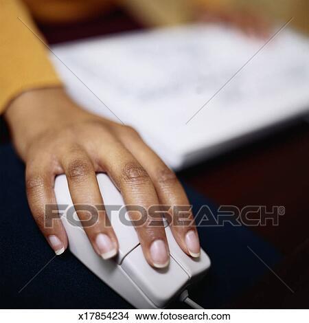 Dessins possession main souris ordinateur x17854234 - Souris ordinateur dessin ...