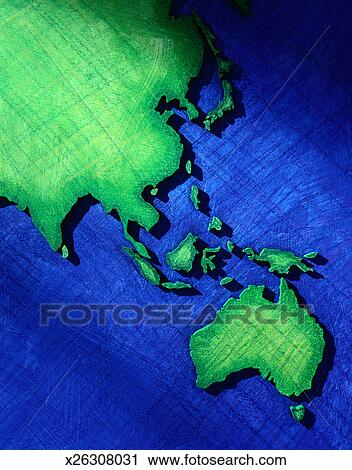 Clipart of southeast asia and australia on a world map x26308031 clipart southeast asia and australia on a world map fotosearch search clip art gumiabroncs Image collections