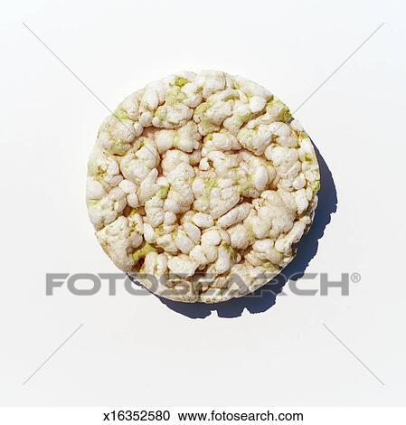 Rice Cake Clip Art : Stock Photography of Rice cake, overhead view x16352580 ...