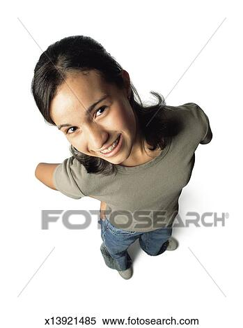 Blue Shirt Jeans and White Clip Art